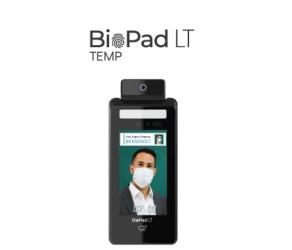Siasa Control de Acceso Facial con Detección de Temperatura BioPad LT Temp, 50.000 Usuarios/Rostros/Tarjetas, RS-232/USB/RJ-45/WiFi — incluye Licencia de TA CLOUD Básico