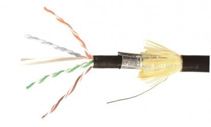 Siemon Bobina de Cable UTP Cat6a 4 Pares, 305 Metros, Negro