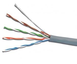 Siemon Bobina de Cable Cat5e UTP 4 Pares, 305 Metros, Gris