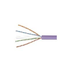 Siemon Bobina de Cable UTP Cat6 4 Pares, 305 Metros, Violeta