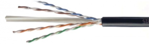 Siemon Bobina de Cable UTP Cat6 4 Pares, 305 Metros, Negro