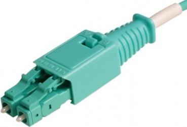 Siemon Cable Fibra Óptica OM3 LC Macho - LC Macho, 1 Metro, Aqua