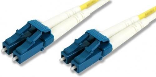 Siemon Cable Fibra Óptica Monomodo OS2 LC Macho - LC Macho, 1 Metro, Amarillo