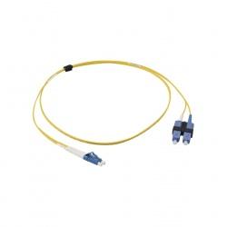 Siemon Cable Fibra Óptica OS2 LC Macho - SC Macho, 1 Metro, Amarillo