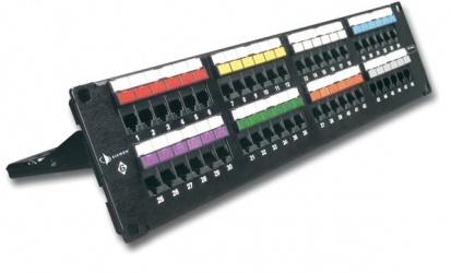 Siemon Panel de Parcheo Cat6, 48 Puertos RJ-45, 2U