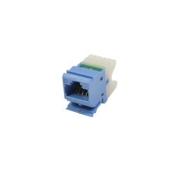 Simon Jack de Red Cat6 UTP MAX, RJ-45, Azul/Blanco