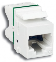 Siemon Jack de Red Cat6 UTP MAX, RJ-45, Blanco