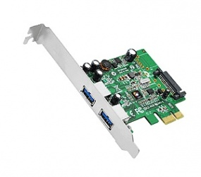 Siig Tarjeta PCI Express JU-P20612-S1, Alámbrico, 2x USB 3.2, 5Gbit/s