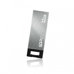 Memoria USB Silicon Power Touch 835, 32GB, USB 2.0, Gris