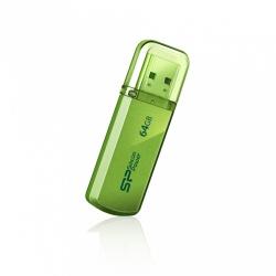 Memoria USB Silicon Power Helios 101, 64GB, USB 2.0, Verde