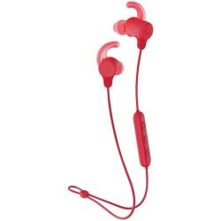 Skullcandy Audífonos Intrauriculares Deportivos con Micrófono JIB, Inalámbrico, Bluetooth, Rojo