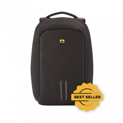 Skypeak Mochila de Nylon SHIELD-115BK para Laptop 15.6