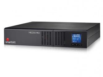 No Break Smartbitt 2200PRO II, 1800W, 2200VA, Entrada 81-290V, Salida 120/120V, 8 Contactos