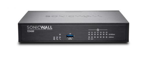 Router SonicWall con Firewall TZ400 Gen5, 1300 Mbit/s, 7x RJ-45, 2x USB 2.0