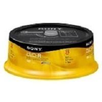 Sony Torre de Discos Virgenes para DVD, DVD-R, 16x, 4.7GB, 25 Piezas