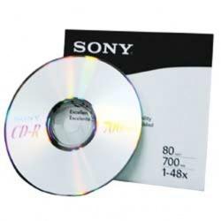 Sony Torre de Discos Virgenes para CD, CD-R, 48x, 700MB, 100 Discos