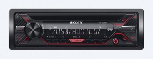 Sony Autoestéreo CDX-G1200U, 55W, MP3/CD/AUX, USB, Negro