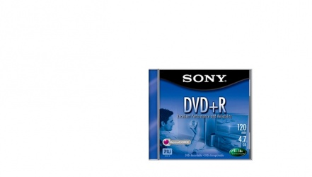 Sony Disco Virgen para DVD, DVD+R, 16x, 1 Disco (DPR47L4E)