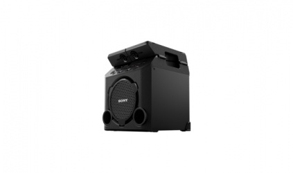 Sony GTK-PG10, Bluetooth, USB 2.0, Negro
