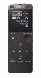 Sony Grabadora de Voz Digital con USB Integrado, 4GB, MP3, Negro