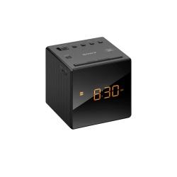 Sony Radio Despertador ICF-C1, AM/FM, Negro