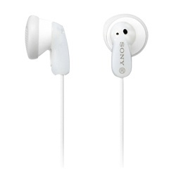 Sony Audífonos de Graves Potentes MDR-E9LP/W, Alámbrico, 1.2 Metros, Blanco