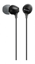 Sony Audífonos MDR-EX15LP, Alámbrico, 1.2 Metros, Negro
