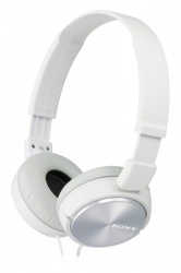 Sony Audífonos MDR-ZX310, Alámbrico, 1.2 Metros, Blanco
