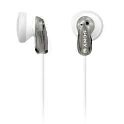 Sony Audífonos Intrauriculares MDRE9LP/GRAY, Alámbrico, 1.2 Metros, Gris