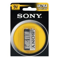 Sony Batería No-Recargable Ultra 9V, 1 Pieza