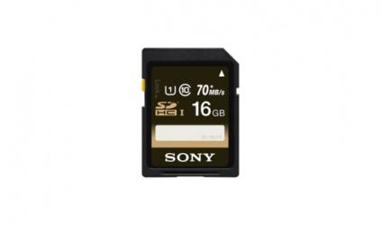 Memoria Flash Sony, 16GB SDHC UHS-I Clase 10