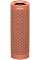 Sonny Bocina Portátil EXTRA BASS XB23, Bluetooth, Inalámbrico, USB, Rojo - Resistente al Agua