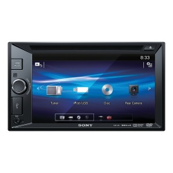 Sony Receptor Multimedia XAV-65 con Pantalla 15.7'', 55W, CD/MP3, Negro