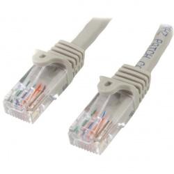 StarTech.com Cable Patch Cat5 UTP RJ-45 Macho - RJ-45 Macho, 50cm, Gris
