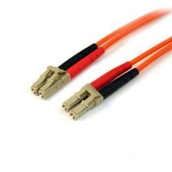 StarTech.com Cable Fibra Óptica OM2 LC Macho -  LC Macho, 10 Metros, Naranja