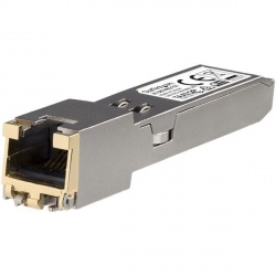 StarTech.com Módulo Transceptor SFP+ 10GBASE-T, 10000 Mbit/s, 1x RJ-45, hasta 30m, Compatible con HP 813874-B21
