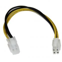 StarTech.com Cable de Poder ATX Macho - Hembra (4-pin), 20cm