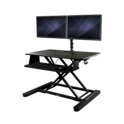 StarTech.com Soporte y Escritorio para 2 Monitores máx. 24