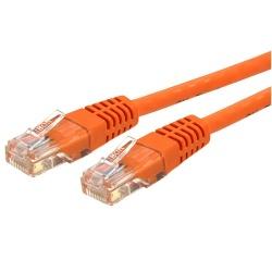 StarTech.com Cable Patch Cat6 UTP, Moldeado RJ-45 Macho - RJ-45 Macho, 30.5 Metros, Naranja