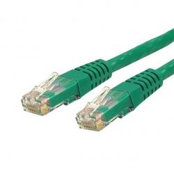 StarTech.com Cable Patch Cat6 UTP RJ-45 Macho - RJ-45 Macho, 10.7 Metros, Verde