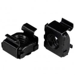 StarTech.com Paquete de 100 Tuercas Enjauladas M5, Negro