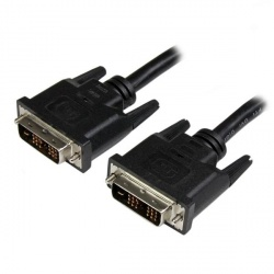 StarTech.com Cable DVI-D Macho - DVI-D Macho, 1.8 Metros, Gris