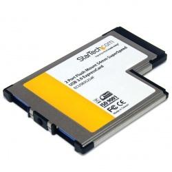 StarTech.com ExpressCard SuperSpeed, 5 Gbit/s, con 2 Puertos USB 3.0