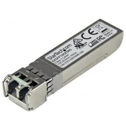 StarTech.com Módulo Transceptor de Fibra SFP+ de 10 Gigabits, 300m, Multimodo LC con DDM, Compatible con Juniper EX 10GE SR