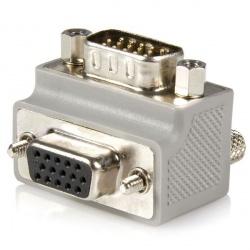 Startech.com Adaptador de Cable VGA Macho - VGA Hembra Tipo 2 Acodado a la Derecha