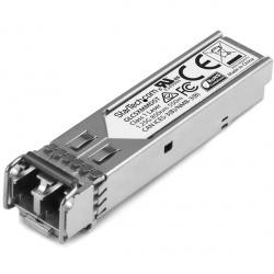 StarTech.com Módulo Transceptor de Fibra SFP de 1Gb 1000Base-SX, Compatible Cisco GLC-SX-MMD, Mini GBIC, Multimodo, LC, 550m, DDM