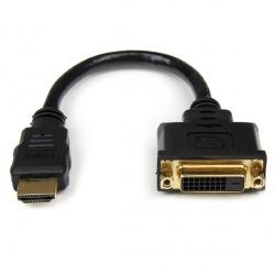 StarTech.com Adaptador HDMI Macho - DVI-D Hembra, 20cm, Negro