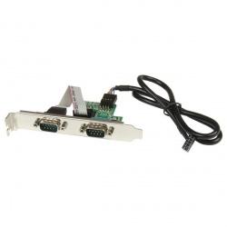 StarTech.com Tarjeta de Interfaz IDC Serial de 2 Puertos, RS-32