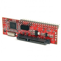 StarTech.com Adaptador IDE de 40 Pines Macho - SATA de 2.5'' y 3.5'', 133 Mbit/s