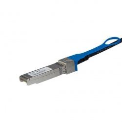 StarTech.com Cable Twinax Direct-Attach SFP+ Macho - SFP+ Macho, 1 Metro, Negro